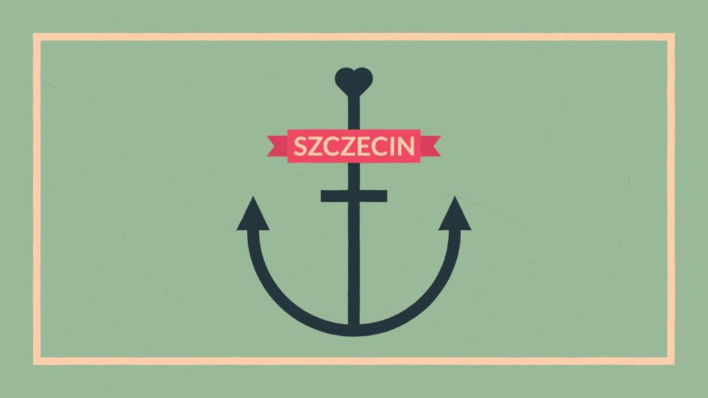 Szczecin specjały - animacja infografik